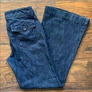 Women's New York & Company Wide Leg Jeans Sz. 10